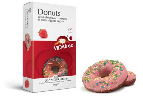 Donuts Erdbeere 2x45g