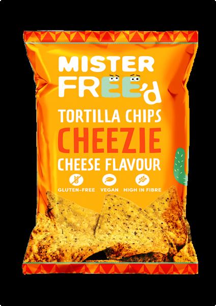 Mais-Tortilla-Chips mit Käsegeschmack