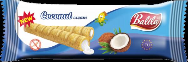 Maisröllchen mit Cocoscreme