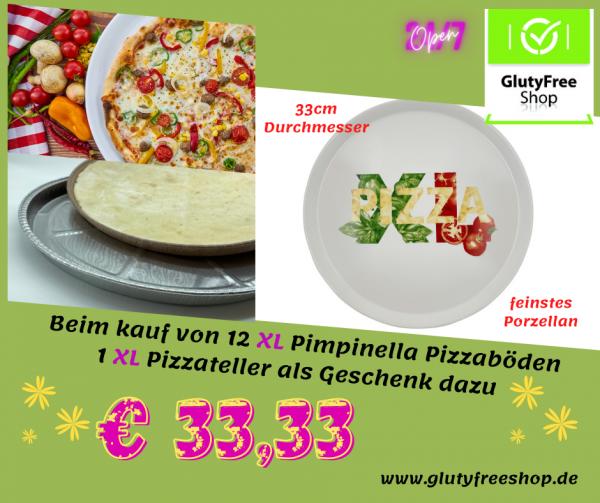 Pizzaböden & Teller XL