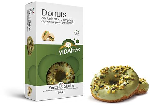 Donuts Pistazie 2x45g
