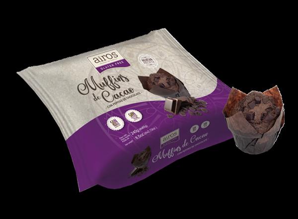 Muffins Kakao 4x60g