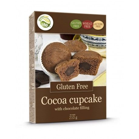 Kakao Cupcakes GF 210g