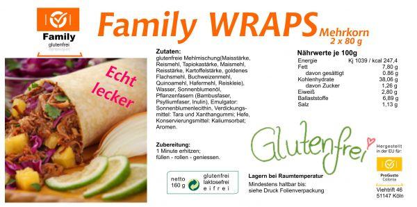 Family Wraps gf 2St. 160g