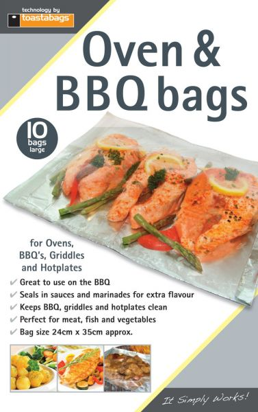 BBQ Grillbags 10 Pack big