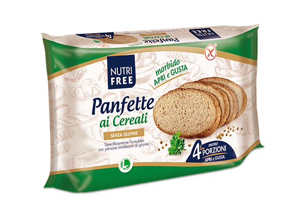NUTRIFREE Brotscheiben rustikal Mehrkorn