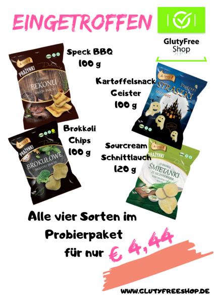 Snackbox 4 Sorten