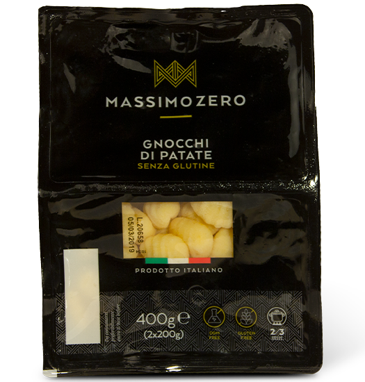 MASSIMO ZERO Potato gnocchi