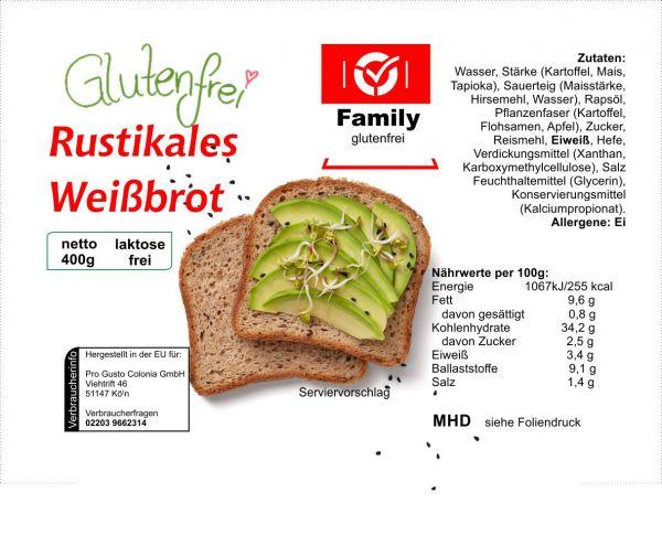 Family Rustikales Weißbrot 400g