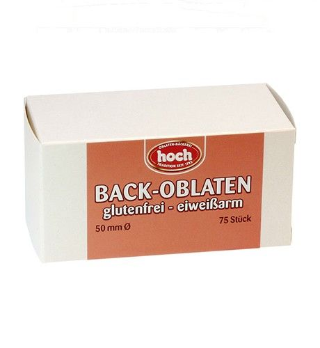 Oblaten glutenfrei 50mm