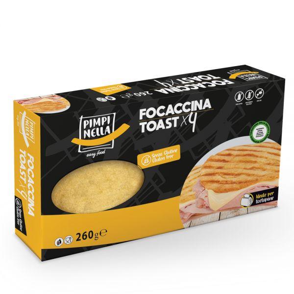 Focaccina Toast 4x85 g