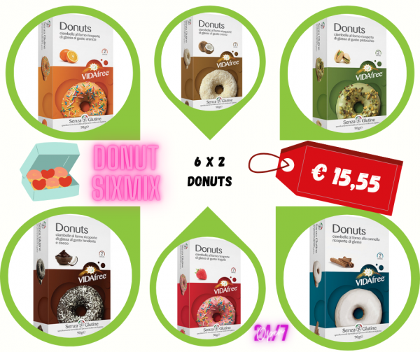 Donuts 6er Mix