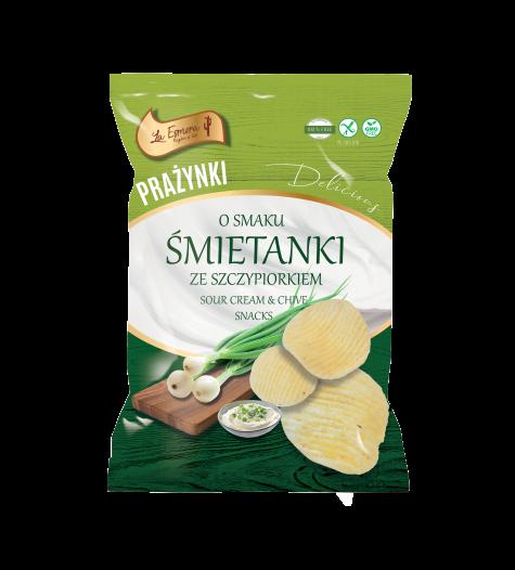 Kartoffel-Snack Sauerrahm & Schnittlauch