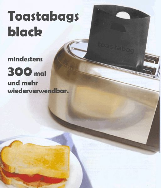 Toastabags black 2er Set