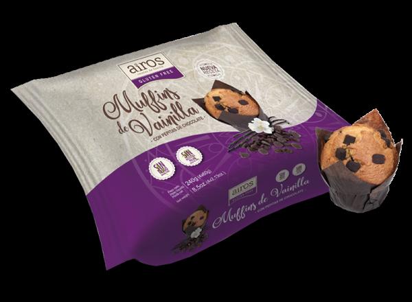 Muffins Vanille 4x60g