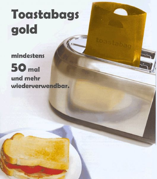Toastabags gold 2erSet