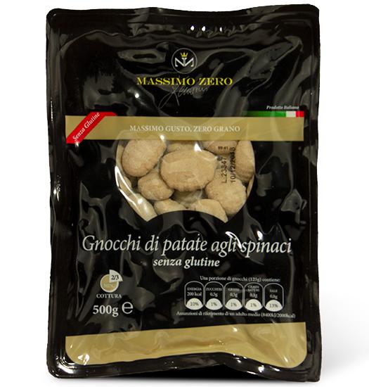 MASSIMO ZERO gnocchi mit Spinat