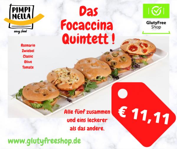 Focaccina Quintett