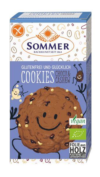 Cookies Schoko & Cashew 125g BIO glutenfrei